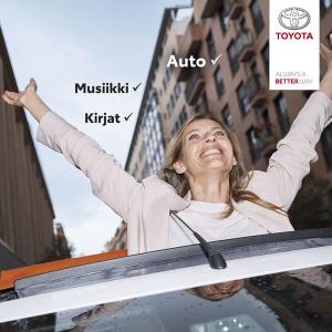 Nyt autonkin saa kuukausitilauksena, alk 295 €/kk. Tervetuloa joustaville autokaupoille Kallantielle Kuopion Autokauppaan. Meiltä löydät Suomen suosituimman Toyota hybrid-malliston ja laajan tavara-autovalikoiman sekä vaihtoautoja joka kukkarolle. Tervetuloa koeajolle, tarjoamme koko perheelle jäätelökahvit.