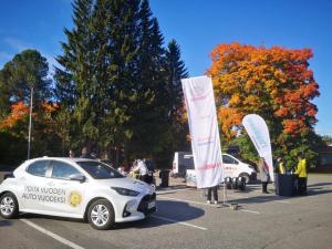 Tervetuloa tänään Nilsiään koeajamaan Toyota Hybrideitä. Kuopion Autokaupan 60 v Juhlakiertue Nilsiän S-Marketin pihalla klo 13 ...