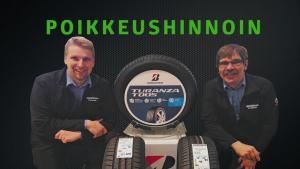 Kuopion Autokaupan rengasmiesten poikkeustarjous