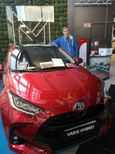 Tänään klo 14 saakka Viihdekeskus Minnassa uuden Toyota Yaris Hybridin esittelyä ja koeajoa. Pisteellämme myös arvonta josta voi...