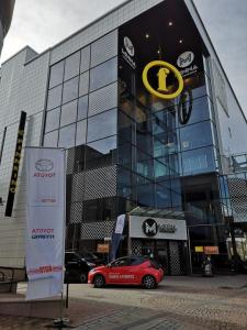 Tänään klo 18 saakka Yaris Hybrid koeajo Viihdekeskus Minnan edestä. Osallistu myös arvontaan, palkintona heijastavia Toyota sa...