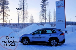 Kuopion Autokauppa toivottaa kaikille asiakkailleen hyvää ystävänpäivää! 🚘