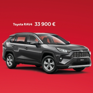 Ajamisen iloa syksyyn! 🍂 Meiltä uusi RAV4 2.0 VVT-iE Active Multidrive S, syyskampanjahintaan 33 900 €, sisältäen toimituskulut. Tarjous on voimassa vuoden loppuun, ja uuden auton rekisteröinti onnistuu vuodelle 2020. Tervetuloa onnistuneille autokaupoille osoitteeseen Kallantie 11! 🚗