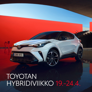 Suosituin hybridimallisto